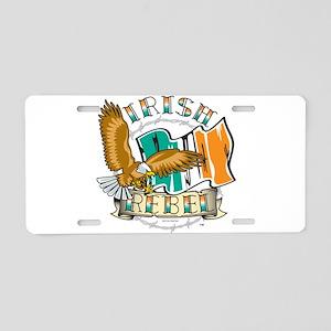 Irish Rebel Gear Ireland Aluminum License Plate