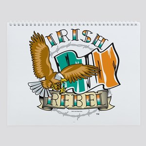 Irish Rebel Gear Ireland Wall Calendar