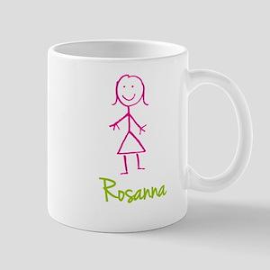 Rosanna-cute-stick-girl Mug