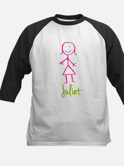 Juliet-cute-stick-girl.png Kids Baseball Jersey