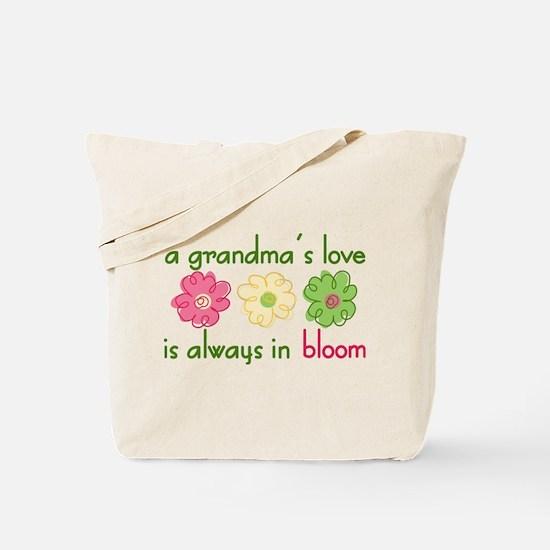 Grandma's Love Tote Bag