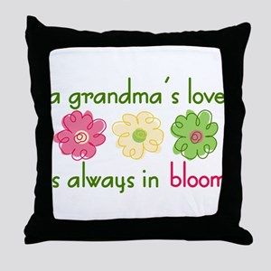 Grandma's Love Throw Pillow