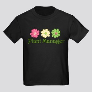 Plant Manager Kids Dark T-Shirt