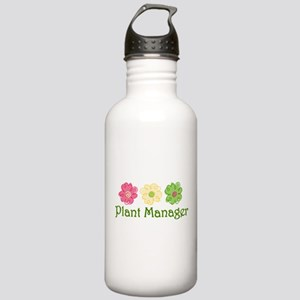 Plant Manager Stainless Water Bottle 1.0L