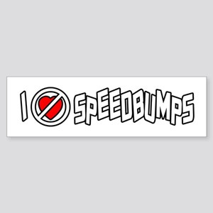 I Hate Speedbumps Sticker (Bumper)