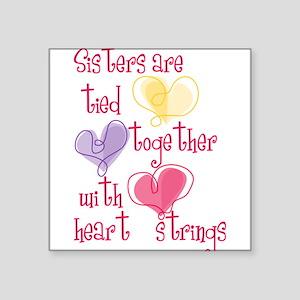 "Sisters Square Sticker 3"" x 3"""