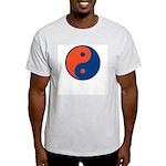 Orange and Blue Ash Grey T-Shirt