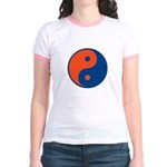 Orange and Blue Jr. Ringer T-Shirt
