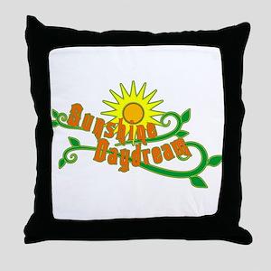 Sunshine Daydream Throw Pillow