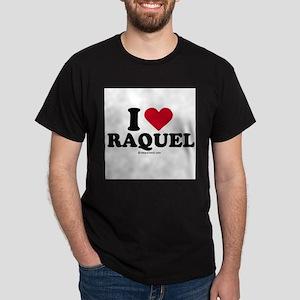 I love Raquel Dark T-Shirt