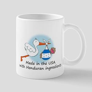 Stork Baby Honduras USA Mug