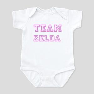 Pink team Zelda Infant Bodysuit