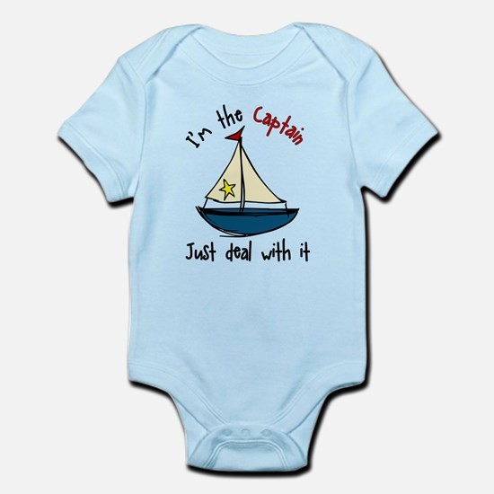 I'm The Captain Infant Bodysuit