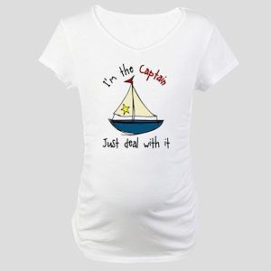 I'm The Captain Maternity T-Shirt