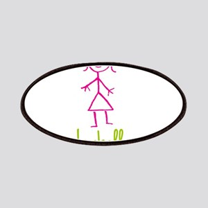 Isabella-cute-stick-girl Patches