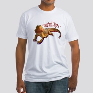 Bearded Dragon III Fitted T-Shirt