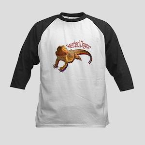 Bearded Dragon III Kids Baseball Jersey