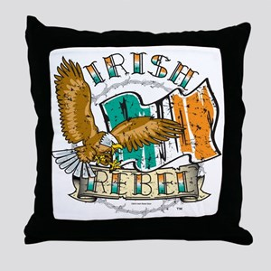 Irish Rebel Gear Ireland Throw Pillow