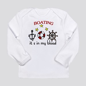 Boating Long Sleeve Infant T-Shirt