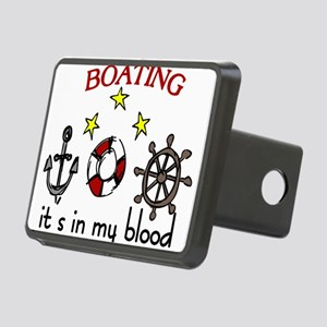 Boating Rectangular Hitch Cover
