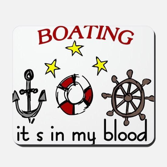 Boating Mousepad