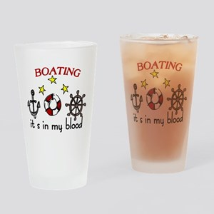 Boating Drinking Glass