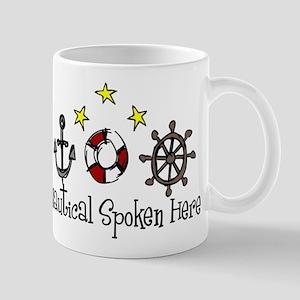 Nautical Spoken Here Mug