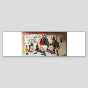 political ad Sticker (Bumper)