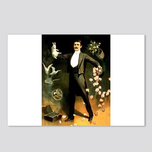 magician Postcards (Package of 8)