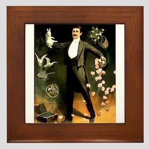 magician Framed Tile