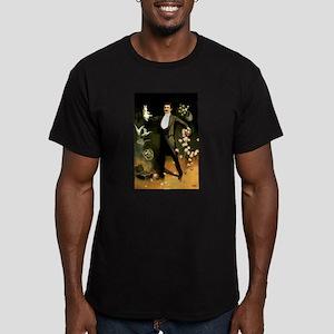 magician Men's Fitted T-Shirt (dark)