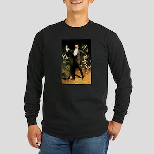 magician Long Sleeve Dark T-Shirt