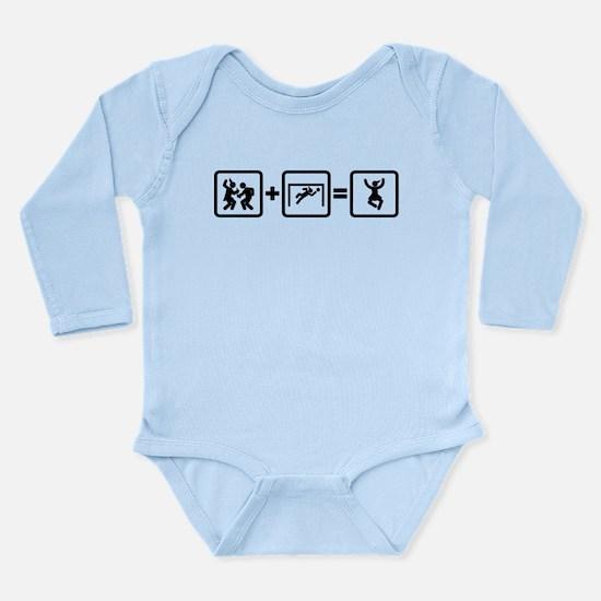 Goalkeeper Long Sleeve Infant Bodysuit