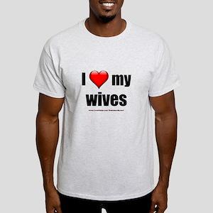 """Love My Wives"" Light T-Shirt"