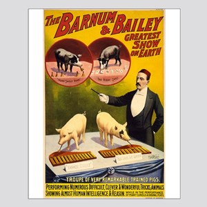 barnum and bailey Small Poster