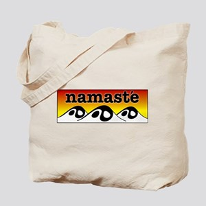 Namaste mountains Tote Bag