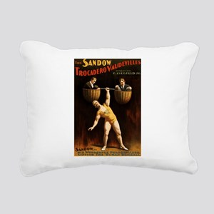 strongman Rectangular Canvas Pillow