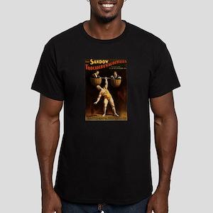 strongman Men's Fitted T-Shirt (dark)