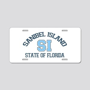 Sanibel Island - Varsity Design. Aluminum License