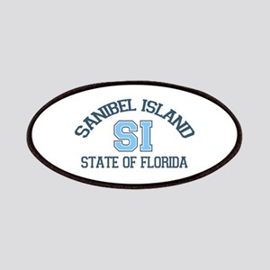 Sanibel Island - Varsity Design. Patches