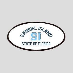 Sanibel Island - Varsity Design. Patches