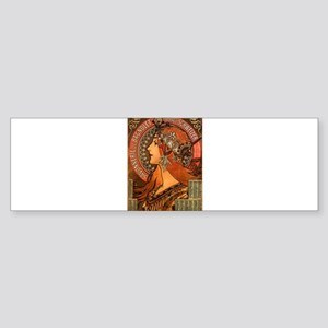 french poster Sticker (Bumper)