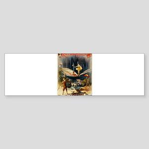 vaudeville poster Sticker (Bumper)