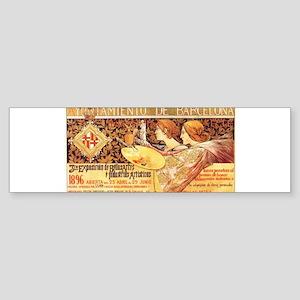 spanish playbill Sticker (Bumper)
