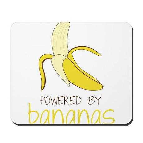 Powered By Bananas Mousepad