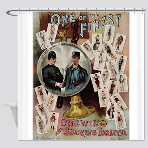 tobacco ad Shower Curtain