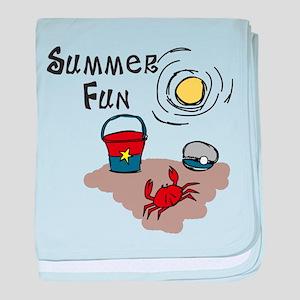 Summer Fun baby blanket