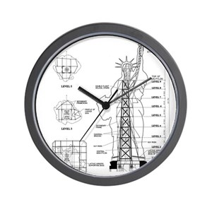 Construct wall clocks cafepress ccuart Choice Image