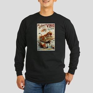 vaudeville poster Long Sleeve Dark T-Shirt