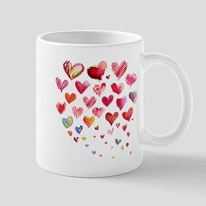 Hearts Aflight Mugs